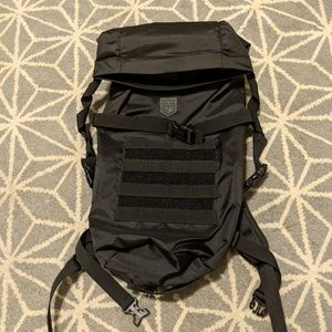 New Cannae Black Roll Up Backpack